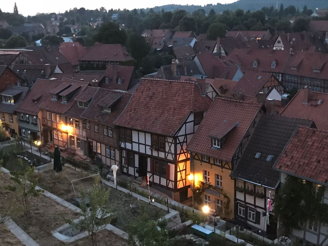 summer eve in Quedlinburg
