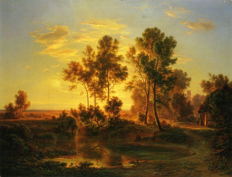 800px-Landscape_at_dusk_-_Abendlandschaft_(1848)