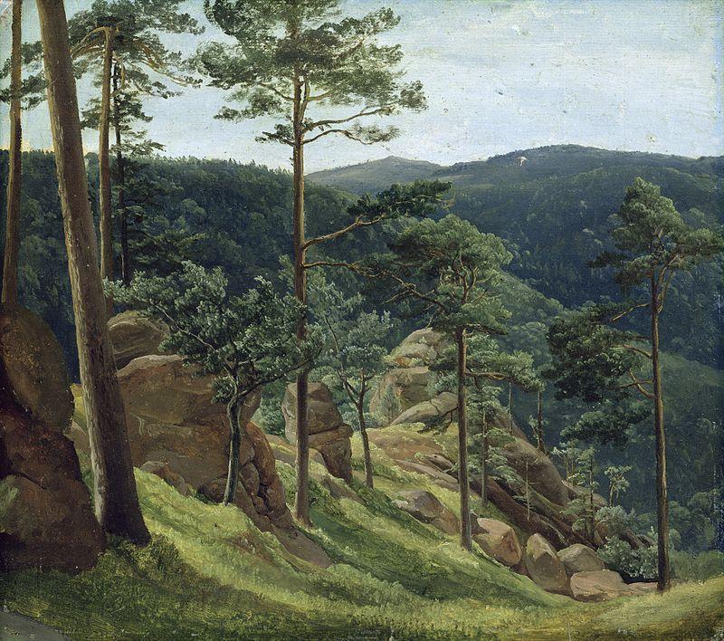 Christian_Morgenstern_-_Blick_zum_Brocken_(1829)