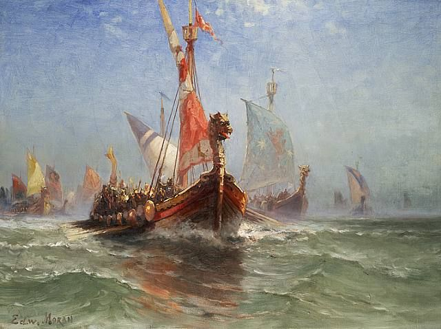 Edward Moran Leif Eriksson