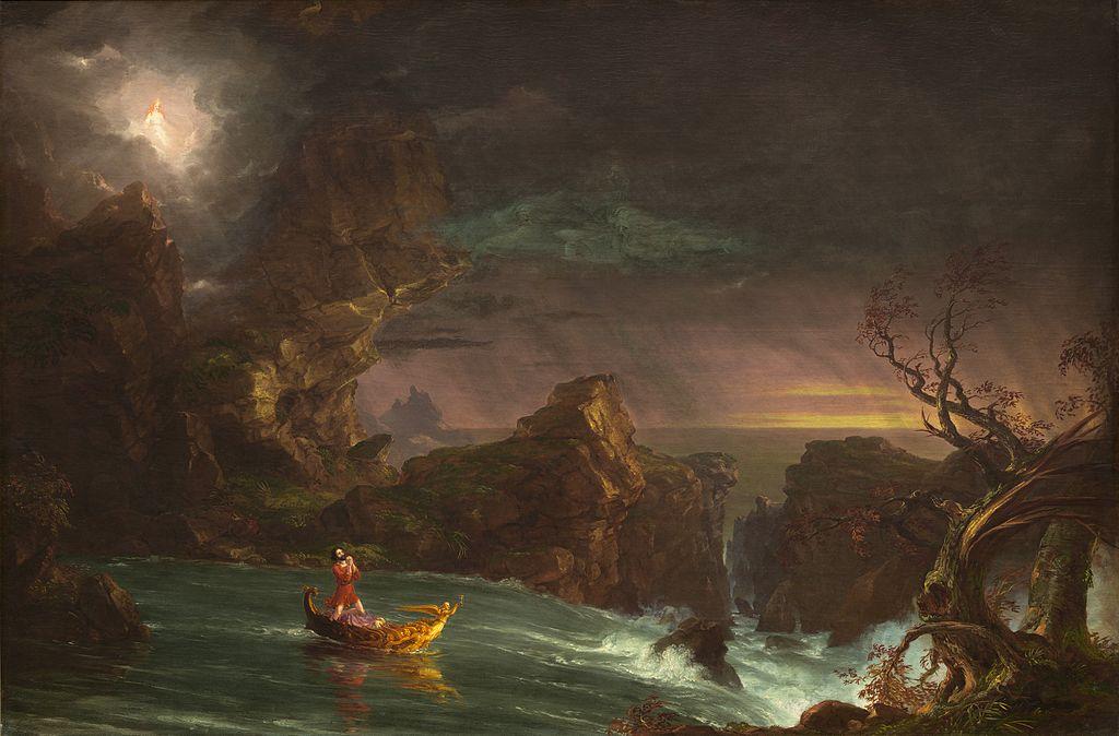 The Voyage of Life Manhood 1842