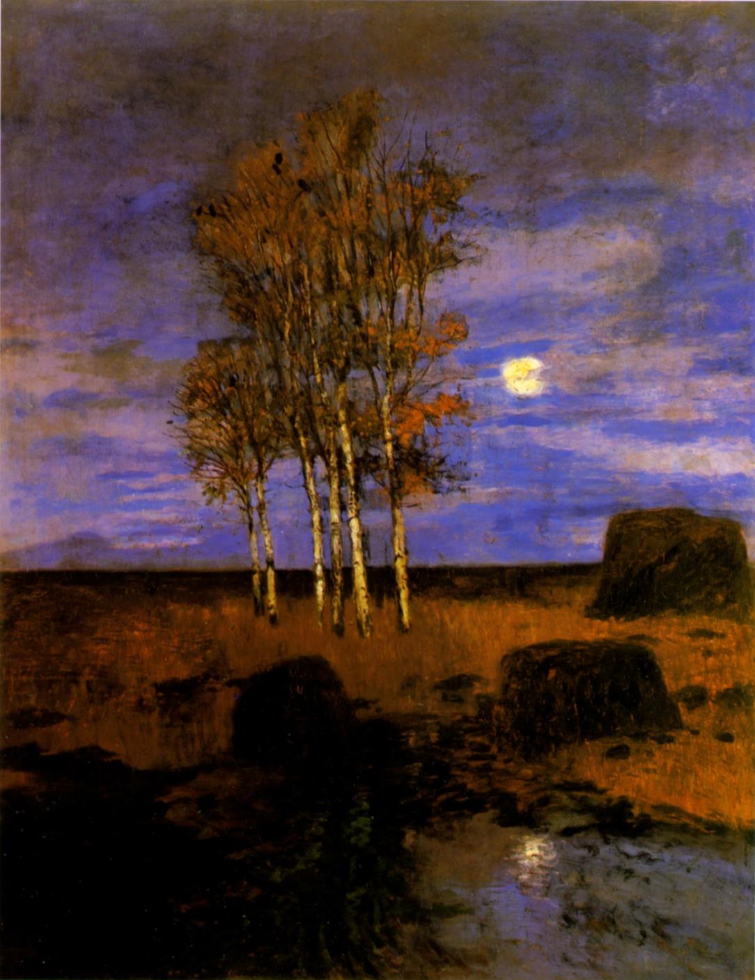 Carl Vinnen-Mondnacht-1900