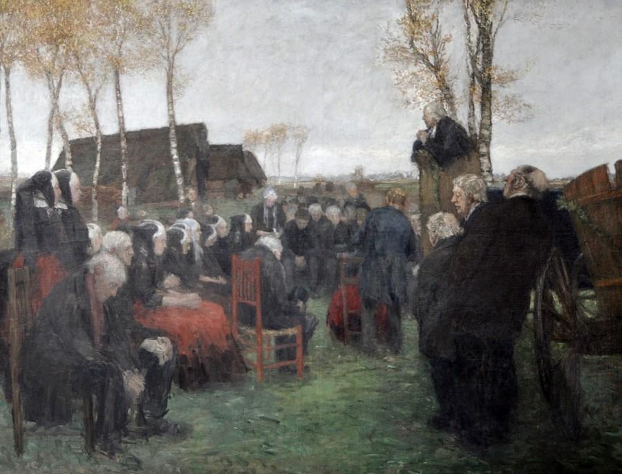 Mackensen Gottestdienst im Freien