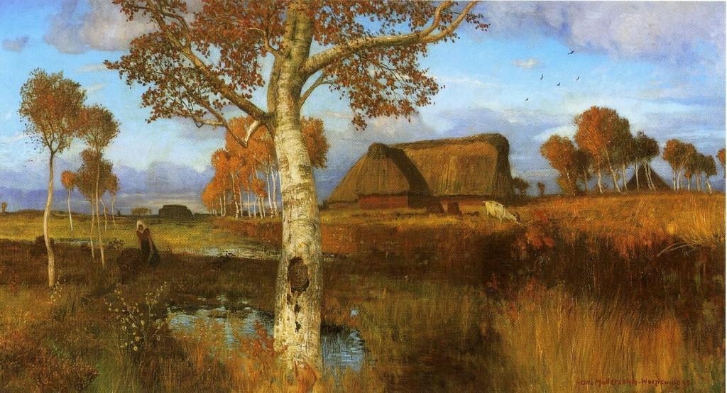 Otto_Modersohn_Herbst_im_Moor_1895