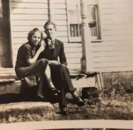 James Dallas Christman and Naomi Ann Snyder
