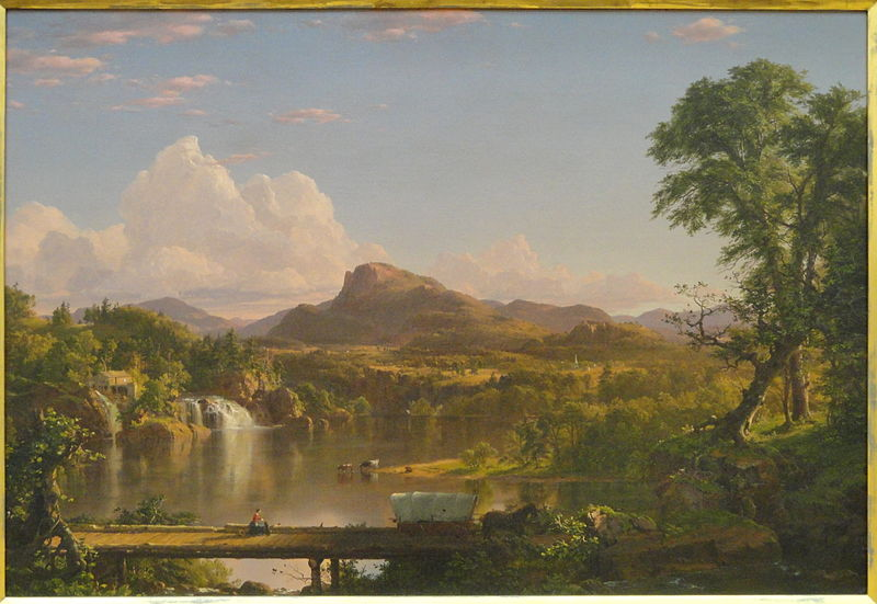 New England Scenery 1851
