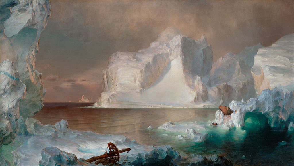 Church's The Icebergs 1861