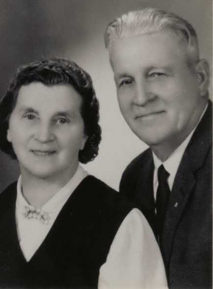 Grandma and Grandpa Christman1