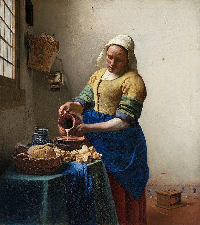 Johannes_Vermeer Het_melkmeisje 1658