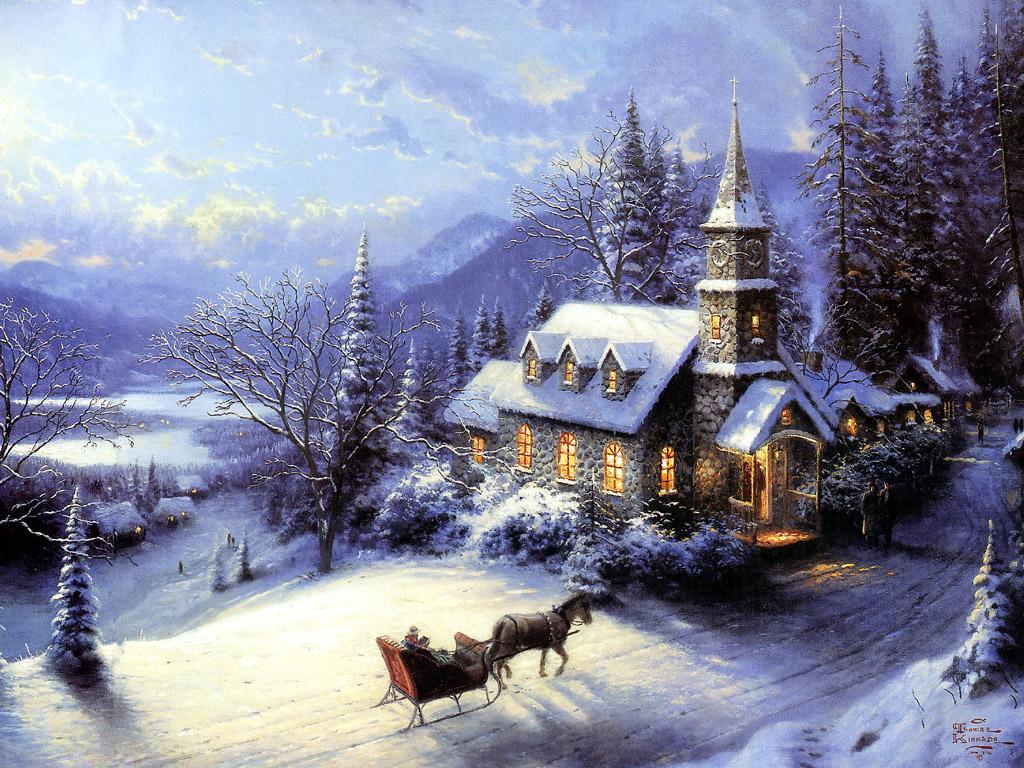 sunday evening sleigh ride