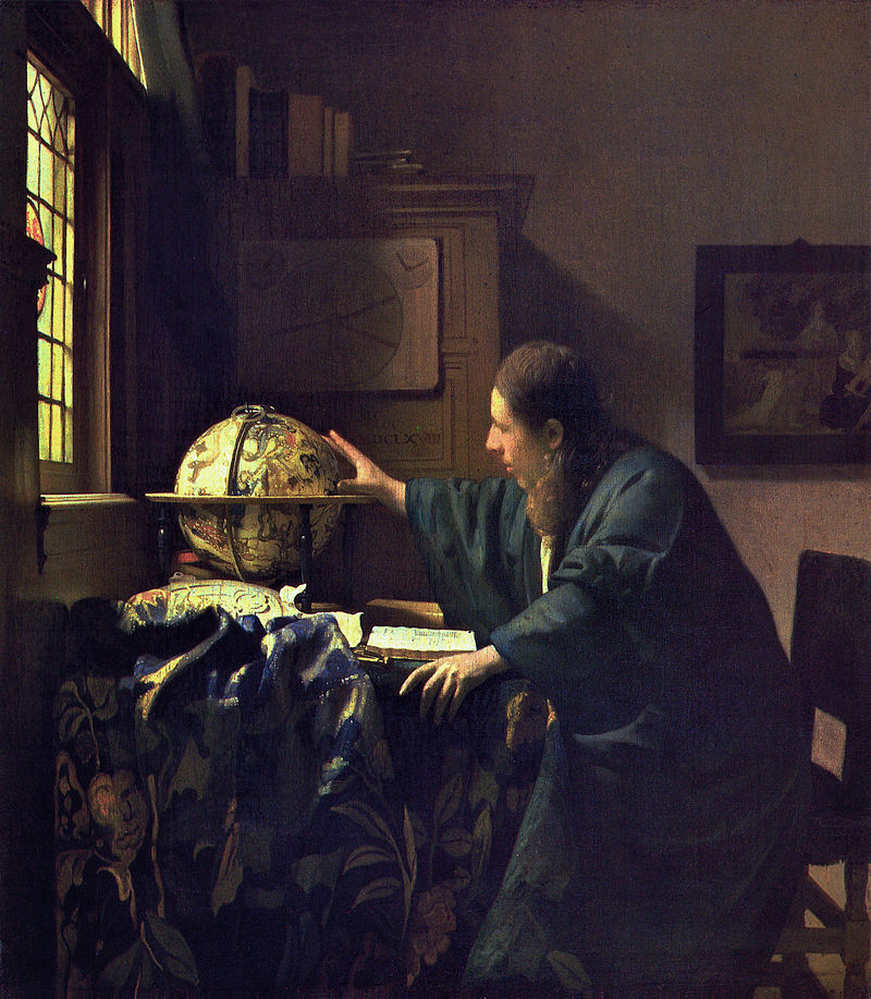 VERMEER_-_The Astronomer 1688)