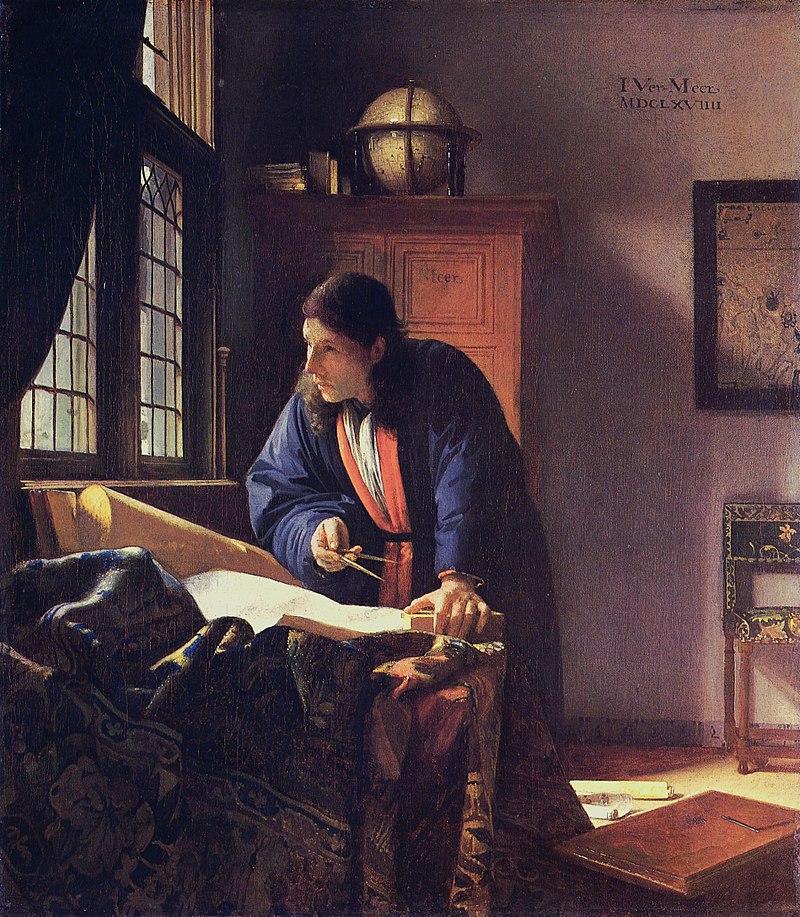 VERMEER_-_The Geographer 1669