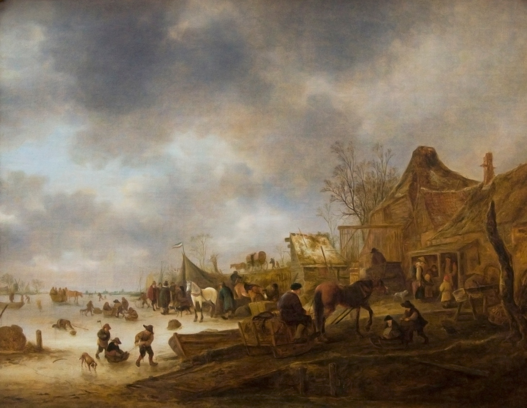 winter landscape 1645