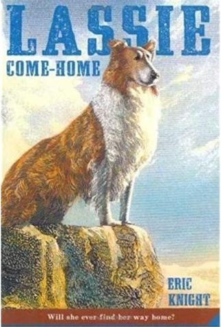 lassie book cover