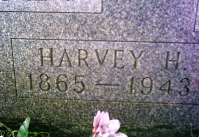Grave Marker Harvey Hamilton