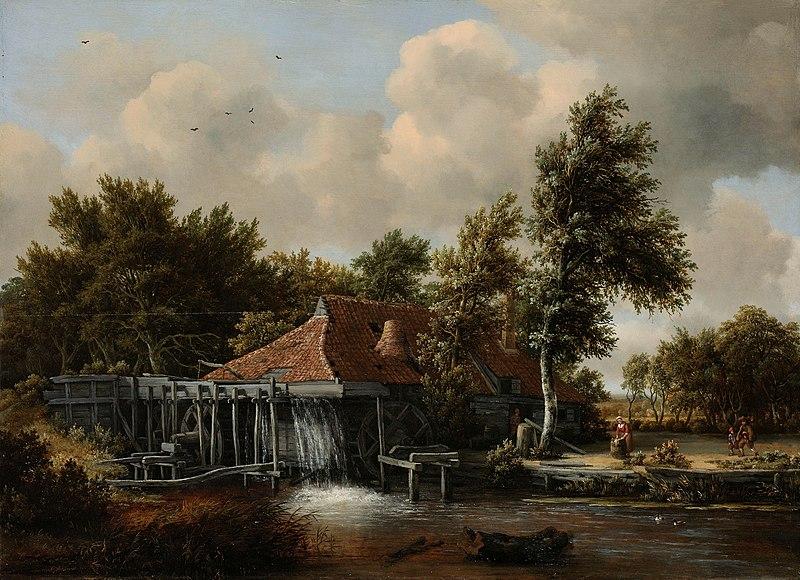 Een_watermolen_Rijksmuseum