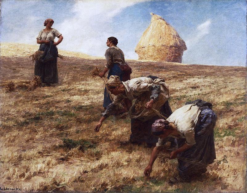 Lhermitte Les Glaneurs 1887