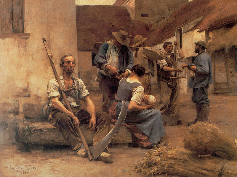 Paying the Harvesters 1882