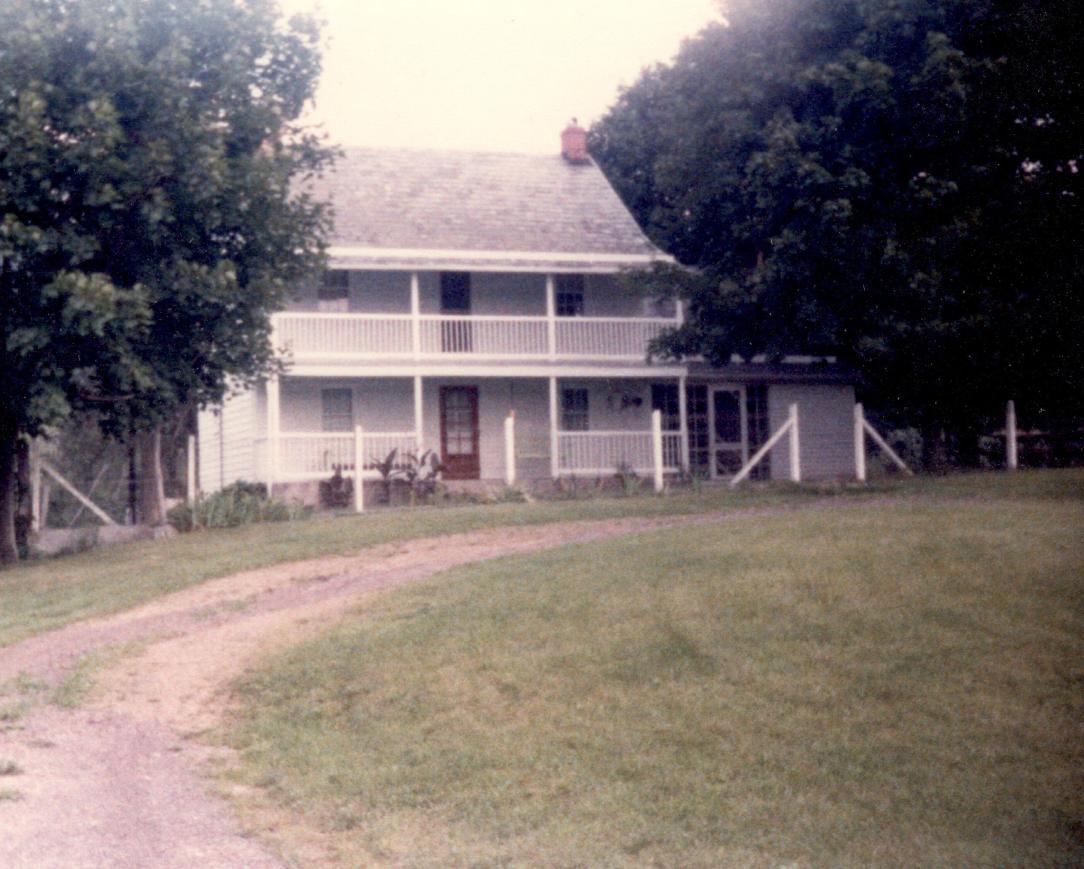 Snyder House until 1845