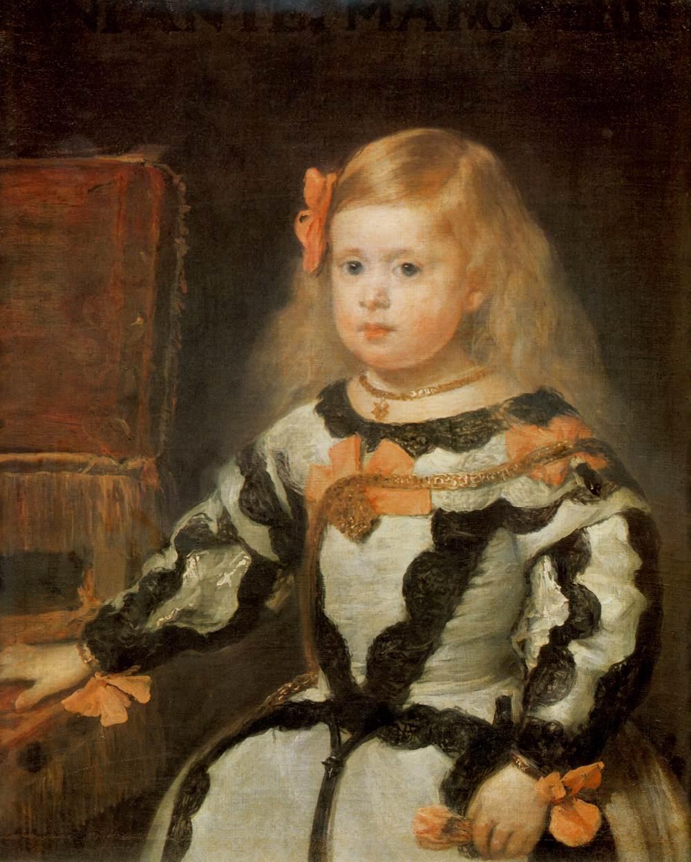 Retrato de la infanta Margarita Diego Velázquez
