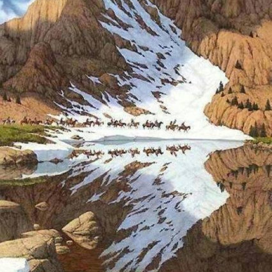 bev doolittle while eagle pass big