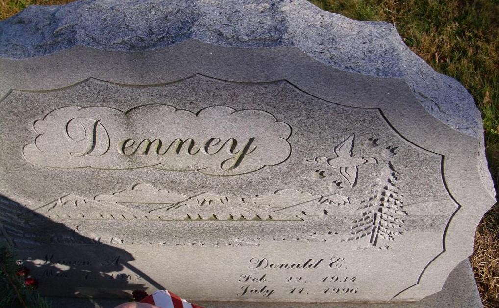 grave marker DED