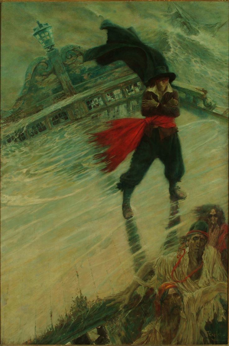 Howard Pyle The Flying Dutchman