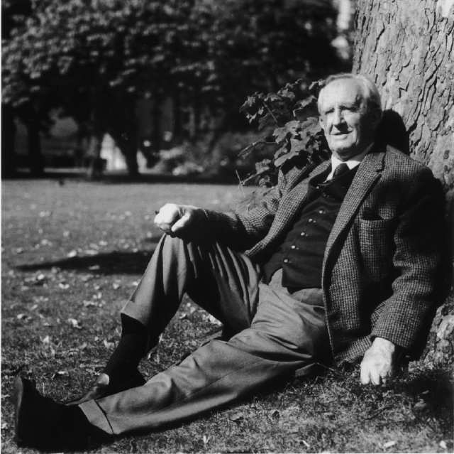 J.R.R. Tolkien. Photo by Billett Potter