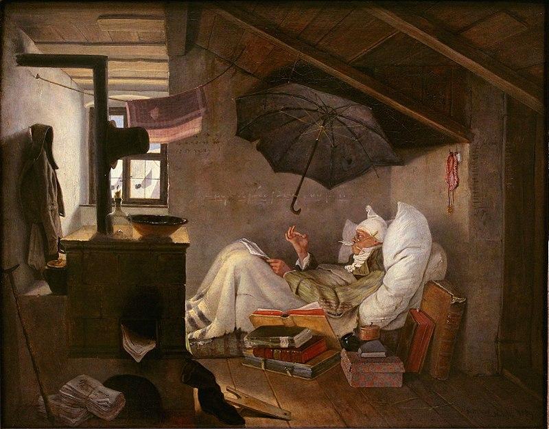Carl_Spitzweg_-_Der_arme_Poet_1839