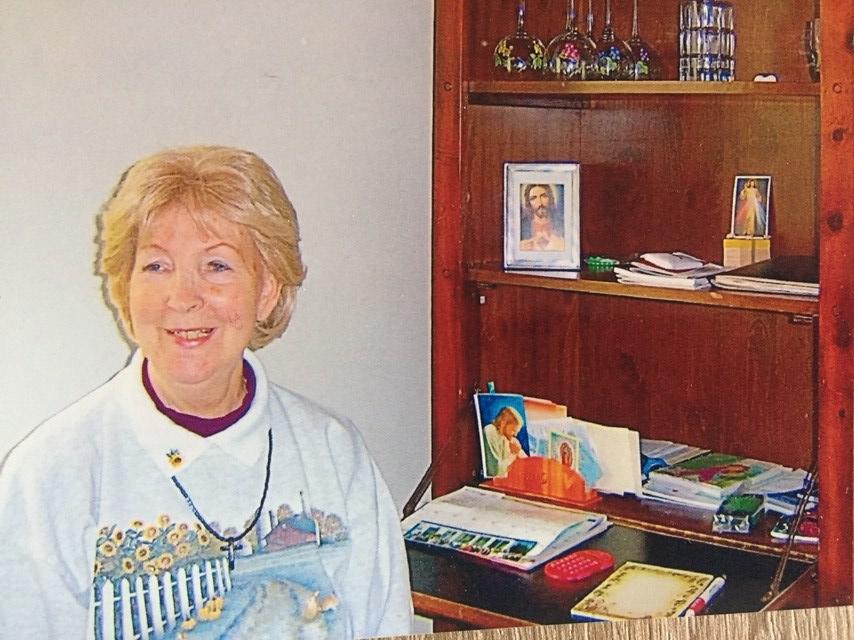 Tante Rita 70 Jahre alt