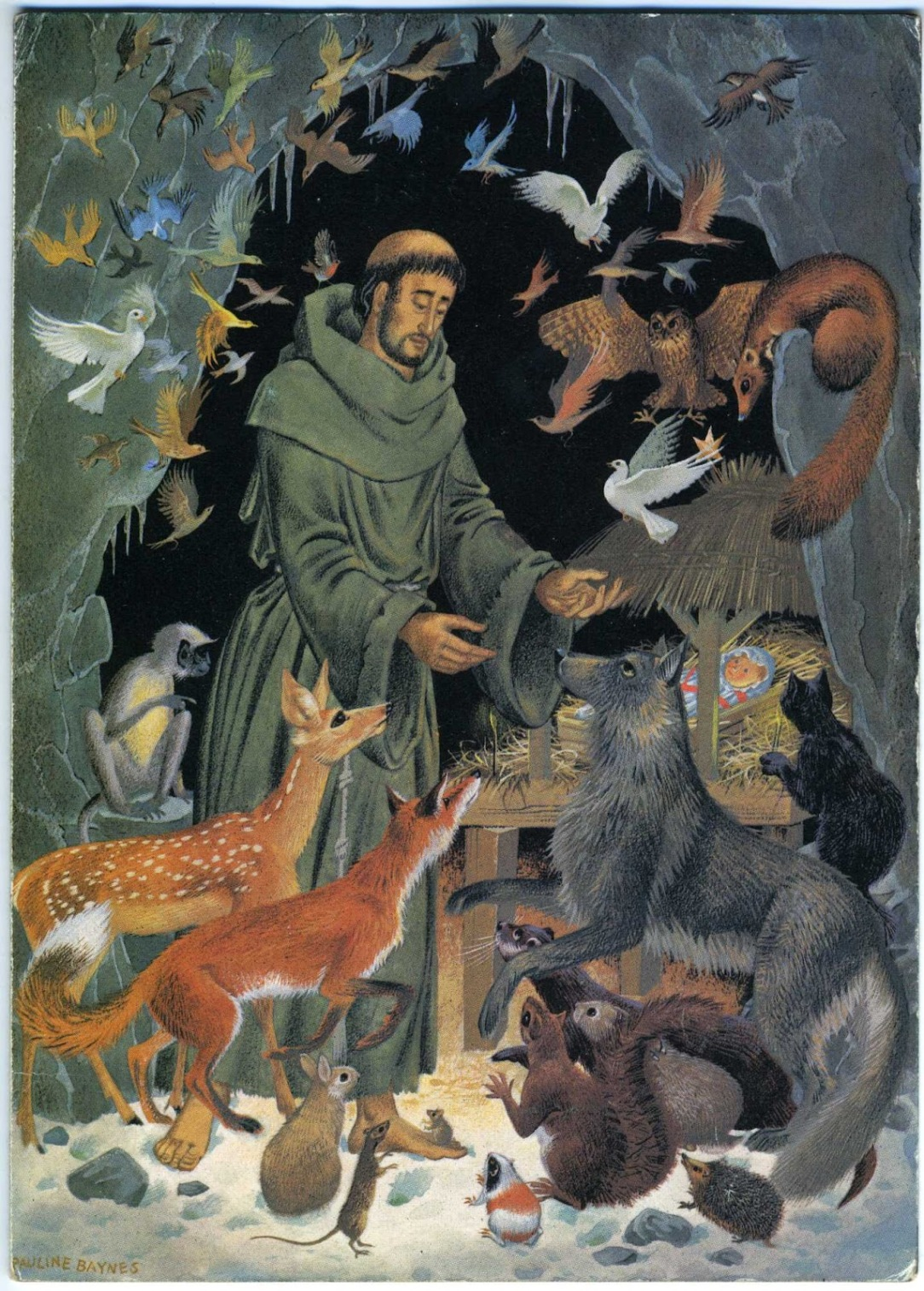 St. Francis of Assisi  Pauline Baynes.jpg