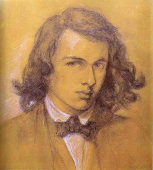 Rossetti self portrait 1847