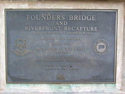 founders bridge plaque